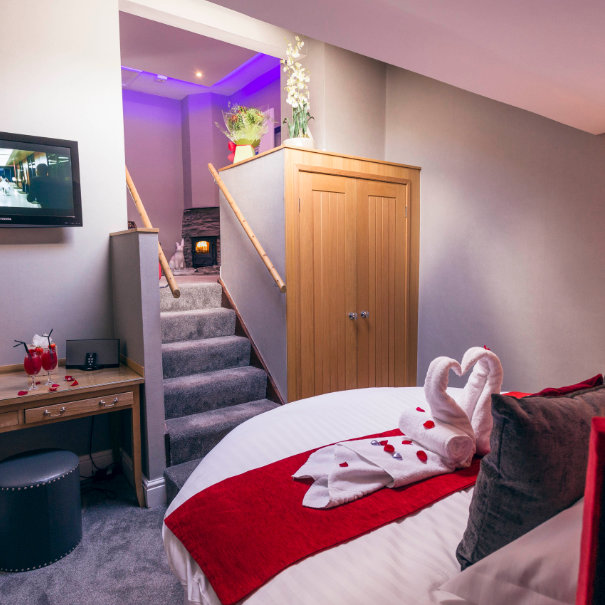 Bella Suite and Hot Tub, Windermere Spa Suite, Bed and Breakfast in Windermere