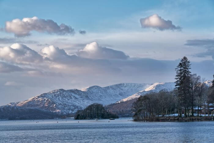Bowness on Windermere in Winter