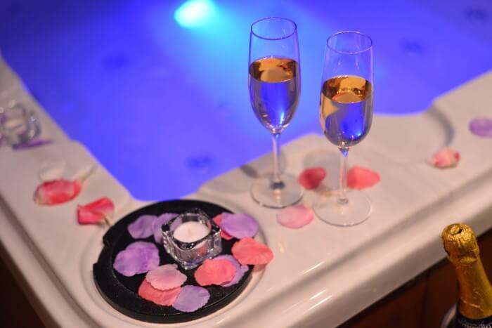 New Year Hot Tub Breaks in Windermere